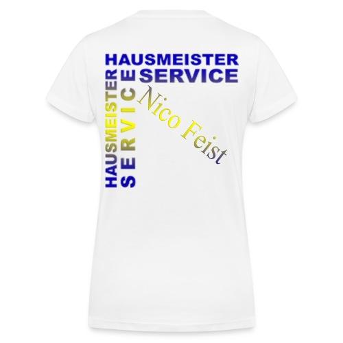 Hausmeister - Frauen Bio-T-Shirt mit V-Ausschnitt von Stanley & Stella