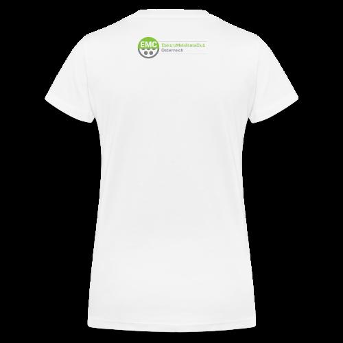 ElektroMobilitätsClub Logo - Frauen Bio-T-Shirt mit V-Ausschnitt von Stanley & Stella