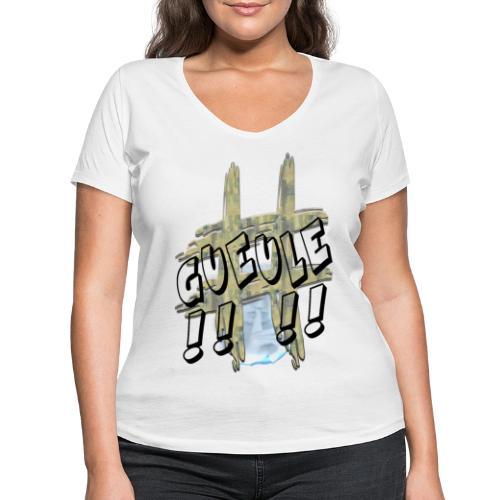 H-Tag Gueule - T-shirt bio col V Stanley & Stella Femme