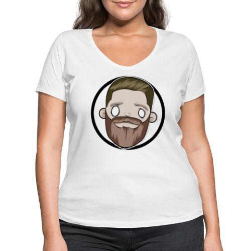Ayabolli Gaming, ingen text - Ekologisk T-shirt med V-ringning dam från Stanley & Stella