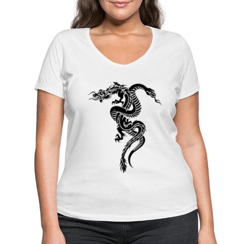 Dragon & serpent collection! Limited edition! - T-shirt ecologica da donna con scollo a V di Stanley & Stella