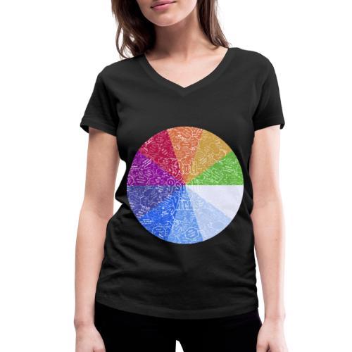 APV 10.1 - Women's Organic V-Neck T-Shirt by Stanley & Stella