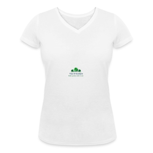 TOS logo shirt - Women's Organic V-Neck T-Shirt by Stanley & Stella