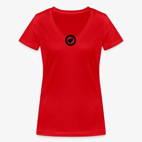 LOOVE (SS18) - T-shirt ecologica da donna con scollo a V di Stanley & Stella