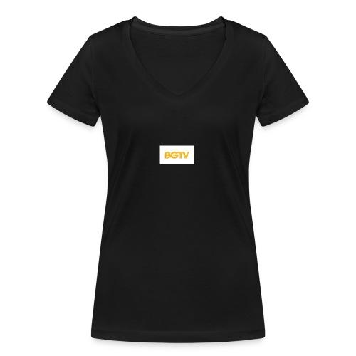 BGTV - Women's Organic V-Neck T-Shirt by Stanley & Stella