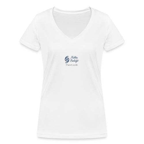 sunlight - Økologisk Stanley & Stella T-shirt med V-udskæring til damer