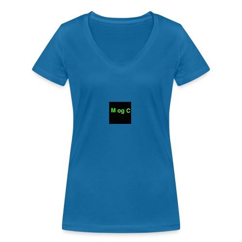 mogc - Økologisk Stanley & Stella T-shirt med V-udskæring til damer