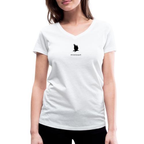 #tirolerbergluft - Frauen Bio-T-Shirt mit V-Ausschnitt von Stanley & Stella