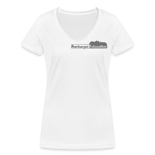 walkerdark - Frauen Bio-T-Shirt mit V-Ausschnitt von Stanley & Stella