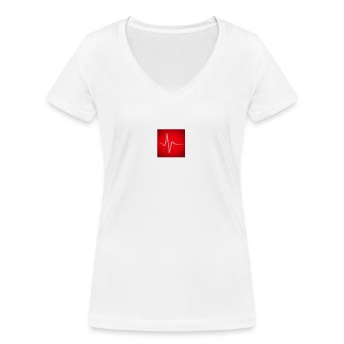 mednachhilfe - Frauen Bio-T-Shirt mit V-Ausschnitt von Stanley & Stella