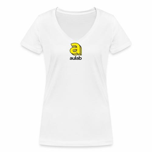 Marchio aulab - T-shirt ecologica da donna con scollo a V di Stanley & Stella