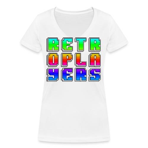 logomaglietta png - T-shirt ecologica da donna con scollo a V di Stanley & Stella
