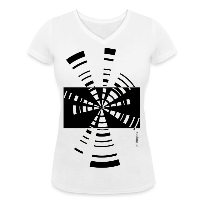 Radio White - Woman V T-shirt
