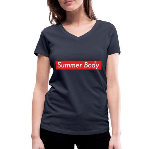 Summer Body - T-shirt bio col V Stanley & Stella Femme