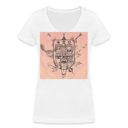hh03 - Frauen Bio-T-Shirt mit V-Ausschnitt von Stanley & Stella