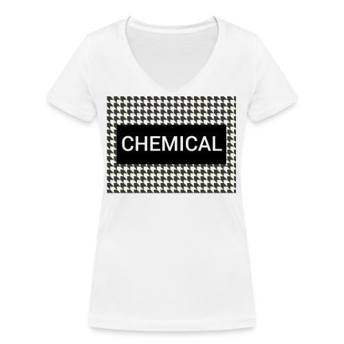 CHEMICAL - T-shirt ecologica da donna con scollo a V di Stanley & Stella