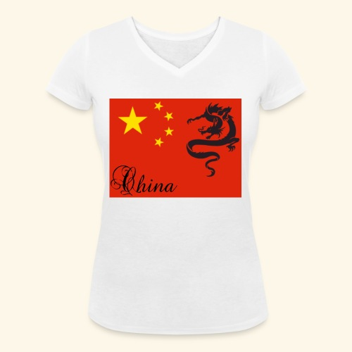 20190111 113759 - Vrouwen bio T-shirt met V-hals van Stanley & Stella