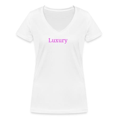 Luxury girl - T-shirt ecologica da donna con scollo a V di Stanley & Stella