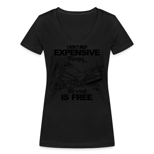0881 FJR wind is free - Vrouwen bio T-shirt met V-hals van Stanley & Stella