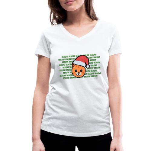 mauw - Vrouwen bio T-shirt met V-hals van Stanley & Stella