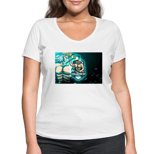 8251831F EA3A 4726 A475 A5510CDECB5A - Ekologisk T-shirt med V-ringning dam från Stanley & Stella