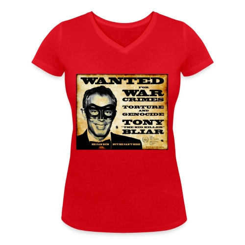 Wanted - Women's Organic V-Neck T-Shirt by Stanley & Stella