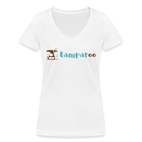 Tamparoo - T-shirt ecologica da donna con scollo a V di Stanley & Stella