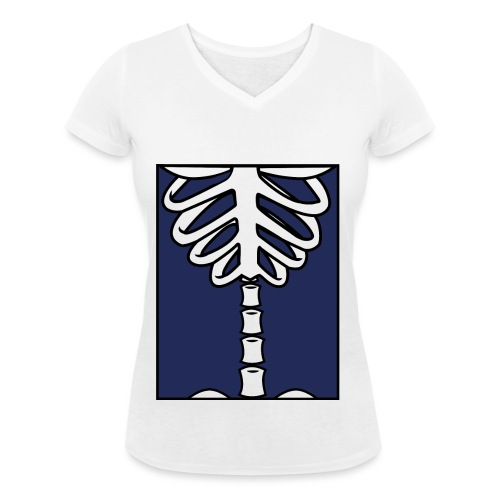 Osthéogénèse - T-shirt bio col V Stanley & Stella Femme