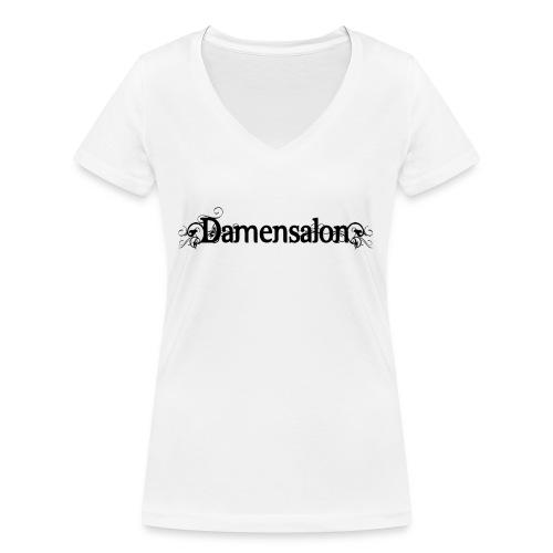 damensalon2 - Frauen Bio-T-Shirt mit V-Ausschnitt von Stanley & Stella