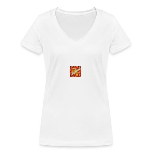 sverimasken2 - Ekologisk T-shirt med V-ringning dam från Stanley & Stella