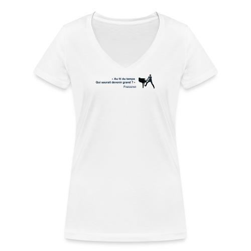00 Petit con22 png - T-shirt bio col V Stanley & Stella Femme