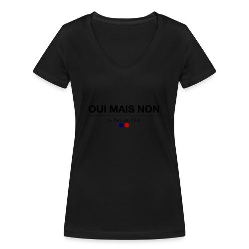 OUI MAIS NON - T-shirt bio col V Stanley & Stella Femme