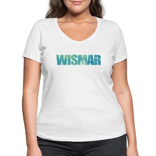 Wismar - Frauen Bio-T-Shirt mit V-Ausschnitt von Stanley & Stella