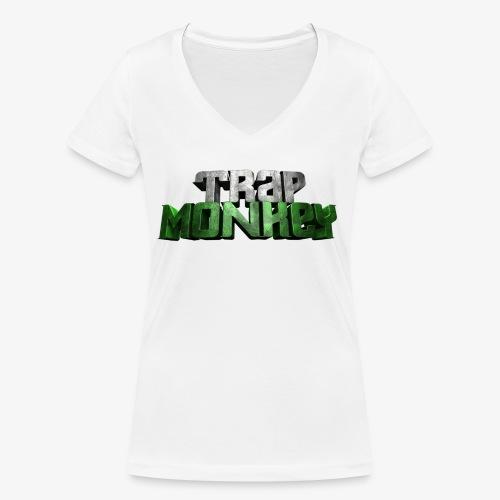 Trap Monkey 2 - T-shirt bio col V Stanley & Stella Femme
