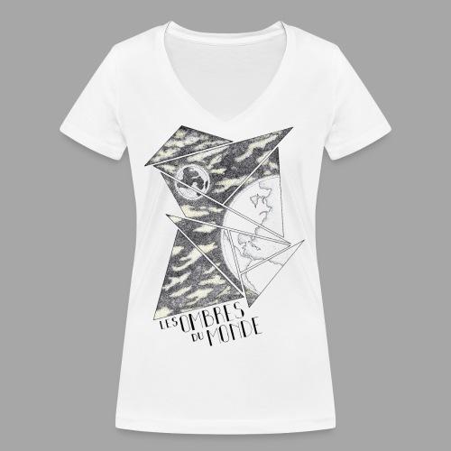 Ombres du monde - La valse à mille points - T-shirt bio col V Stanley & Stella Femme