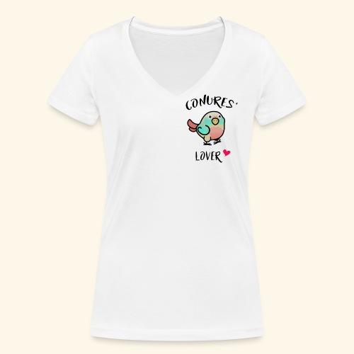 Conures' Lover: Toc - T-shirt bio col V Stanley & Stella Femme