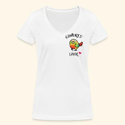 Conures' Lover: Ananas - T-shirt bio col V Stanley & Stella Femme