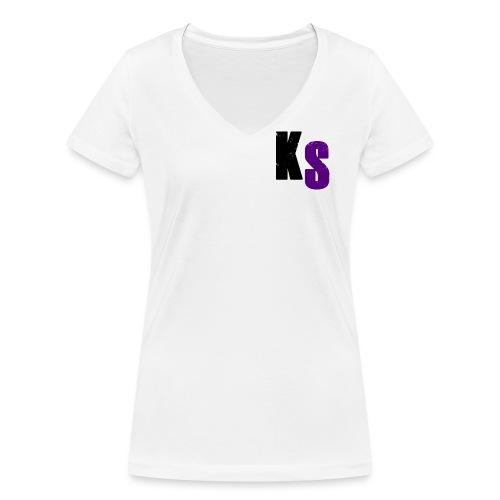 KS Official - Ekologisk T-shirt med V-ringning dam från Stanley & Stella