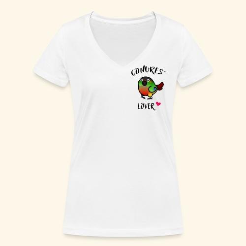 Conures' Lover: opaline - T-shirt bio col V Stanley & Stella Femme