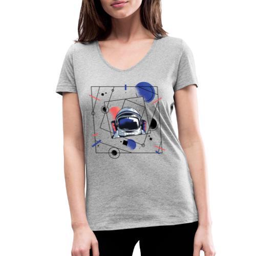 Beste Astronaut Weltraum Designs - Frauen Bio-T-Shirt mit V-Ausschnitt von Stanley & Stella