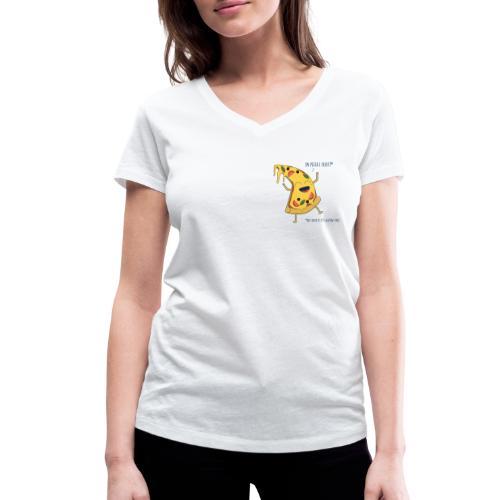 Pizza - Frauen Bio-T-Shirt mit V-Ausschnitt von Stanley & Stella