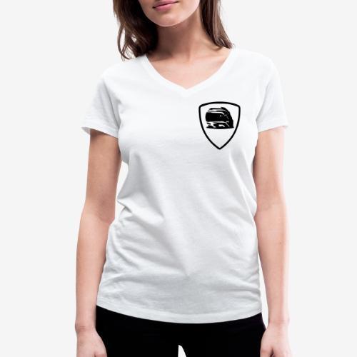 badge-helmet-team - T-shirt bio col V Stanley & Stella Femme