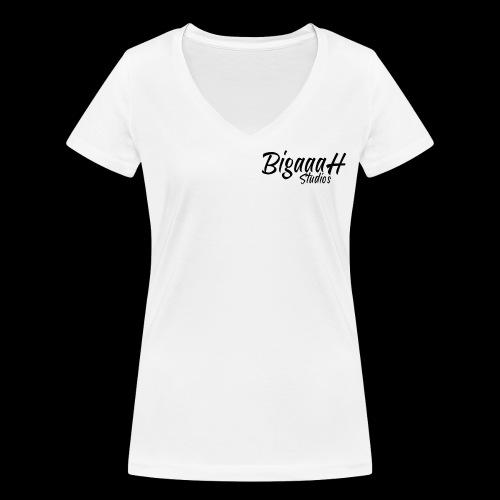 BigaaaH Studios - Women's Organic V-Neck T-Shirt by Stanley & Stella
