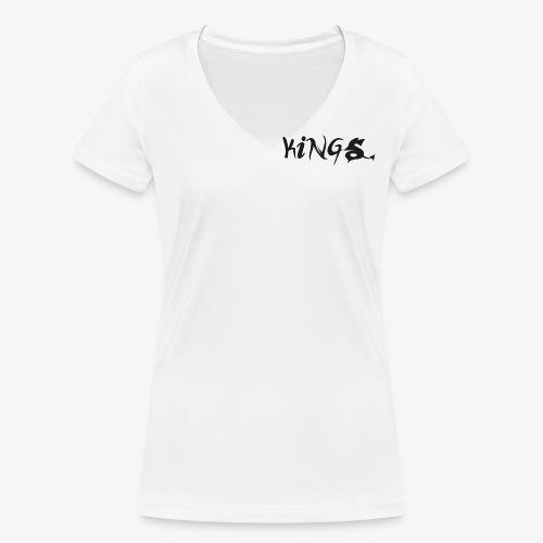 kings logo 2 png - Vrouwen bio T-shirt met V-hals van Stanley & Stella