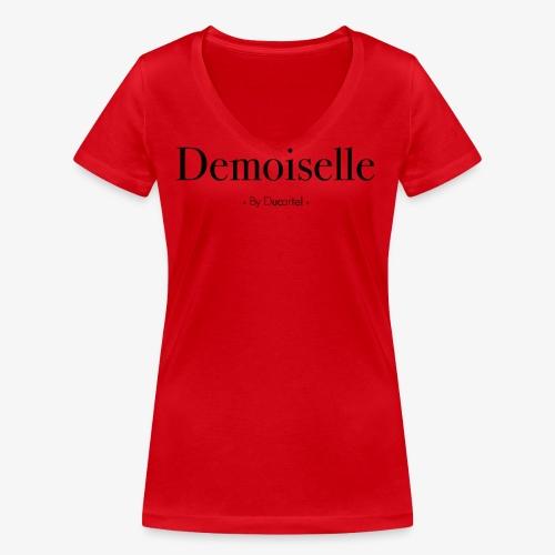 Demoiselle - T-shirt bio col V Stanley & Stella Femme
