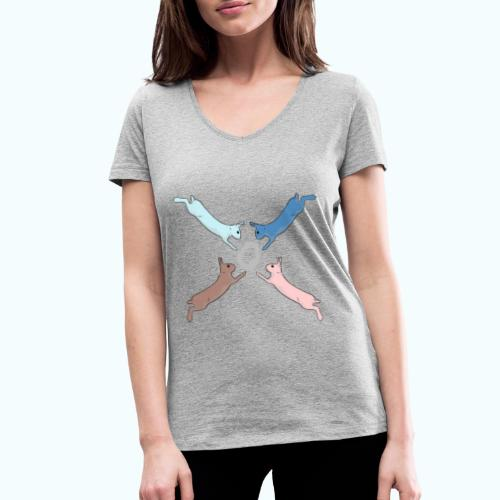 Easter - Women's Organic V-Neck T-Shirt by Stanley & Stella