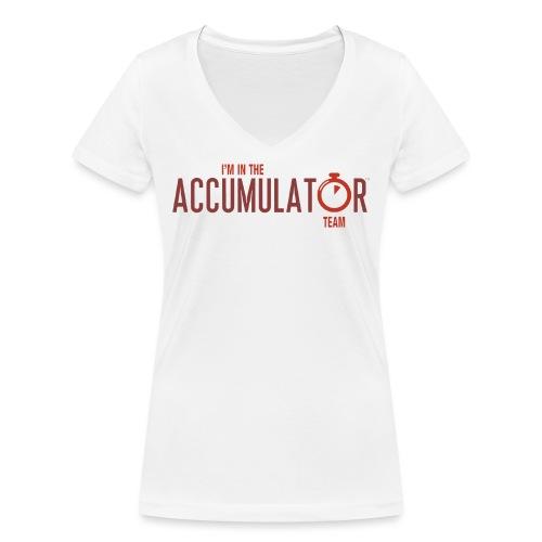 Team - Women's Organic V-Neck T-Shirt by Stanley & Stella