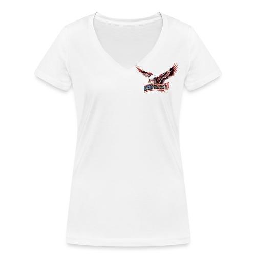 adler frei - Frauen Bio-T-Shirt mit V-Ausschnitt von Stanley & Stella