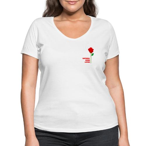 Natural Born Lover - I'm so sexy! - Women's Organic V-Neck T-Shirt by Stanley & Stella