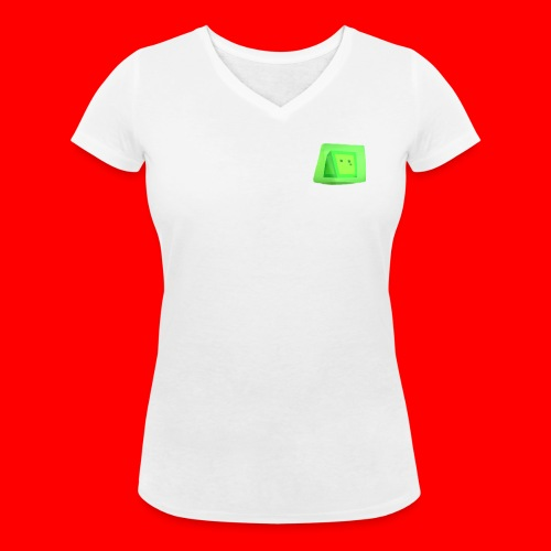 Squishy! - Women's Organic V-Neck T-Shirt by Stanley & Stella